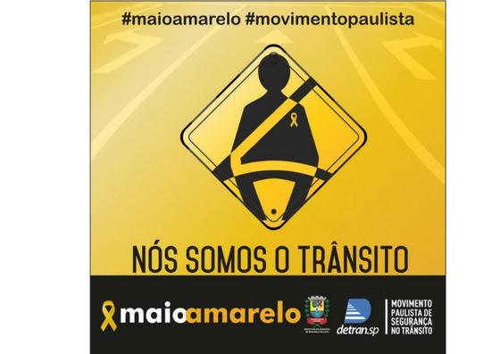Taubaté participa da campanha Maio Amarelo