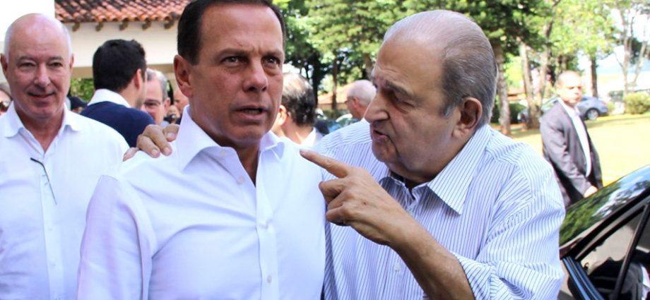 Governador João Doria e prefeito Jesus Chedid anunciam retorno às aulas presenciais dia 1º de fevereiro em Bragança Paulista.
