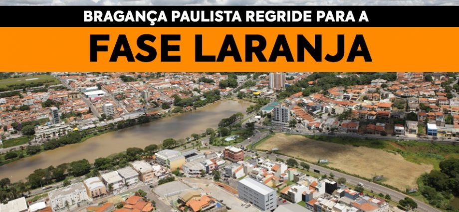 Bragança Paulista regride para Fase Laranja e aulas são adiadas no Estado de São Paulo para o dia 8 de fevereiro.