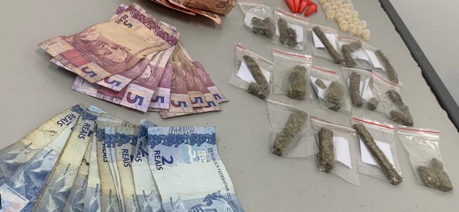 Polícia Militar prende jovem acusado de tráfico