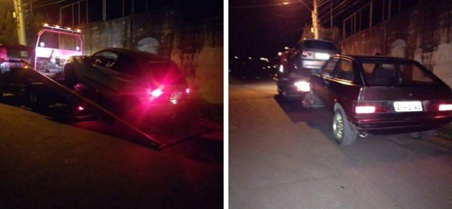 Polícia Militar acaba com pancadão em Serra Negra