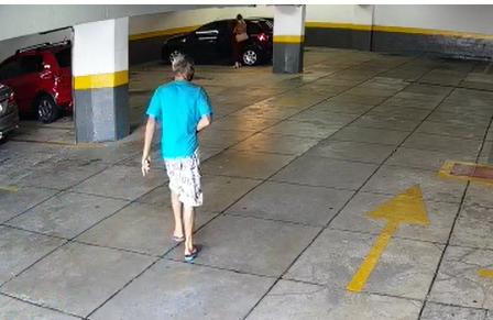 Mulher é atacada em estacionamento de banco e acusado é preso