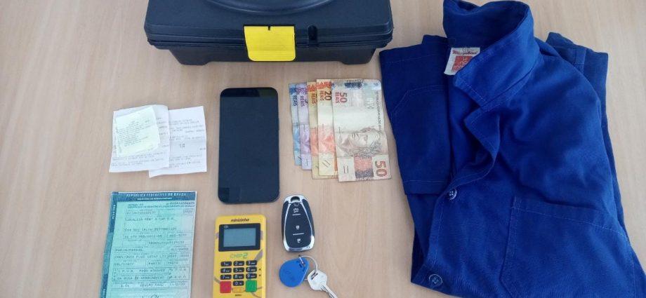 Polícia Militar prende falso mecânico acusado de aplicar golpes em idosos