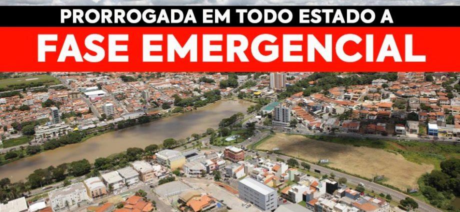 Governo prorroga Fase Emergencial até dia 11 de abril em todo o Estado de São Paulo. Comércio continua fechado, assim como igrejas.