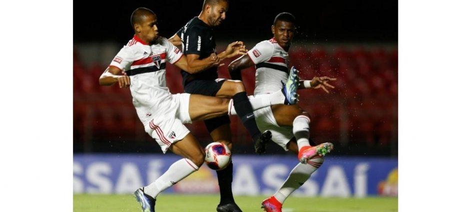 Bragantino perde para o São Paulo após 12 jogos sem derrotas