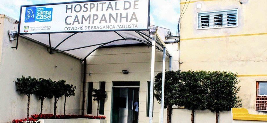 Hospital de Campanha completa 1 ano de funcionamento ininterrupto em Bragança Paulista para tratamento exclusivo de COVID-19.
