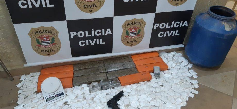 Polícia prende traficante que levava drogas de Bragança para Socorro