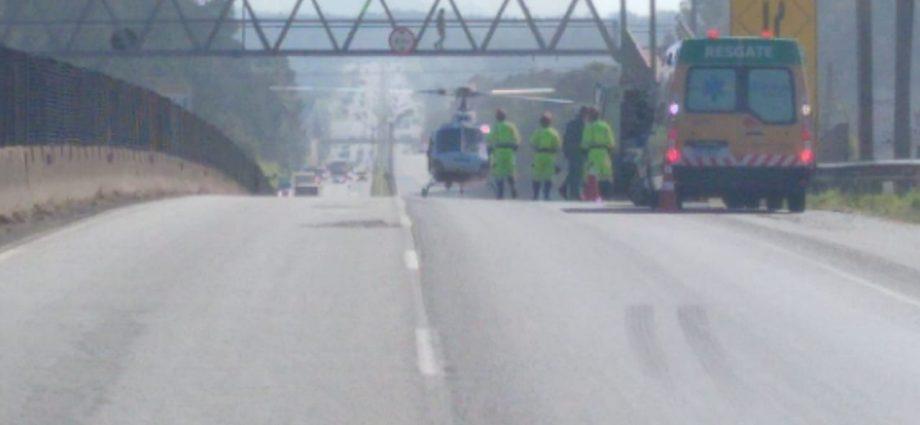 Acidentes complicam o trânsito na Fernão Dias em Atibaia