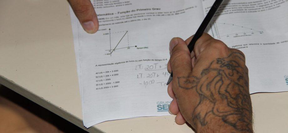 Presos de Bragança Paulista e Atibaia participam de Olimpíadas de Matemática. São 110 inscritos de Bragança e 64 de Atibaia.