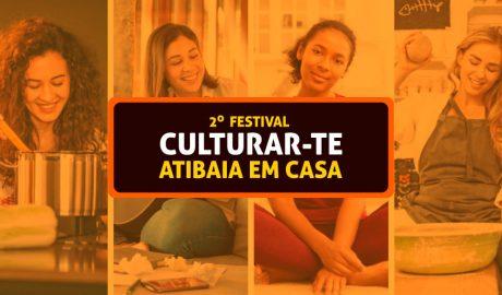 Festival Culturar-te Atibaia está com inscrições abertas até dia 18. Clique aqui e saiba como se inscrever para participar.